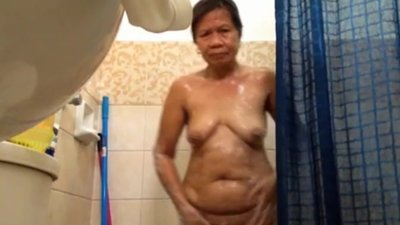 chubby filipina granny naked..