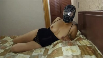 Mexican masked girl