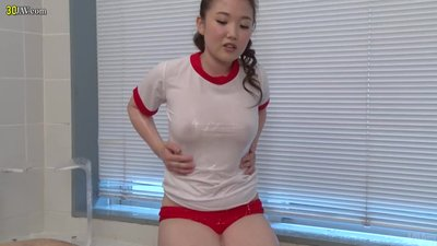 Sporty Japanese amazing sex..