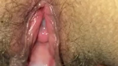 Hairy Pussy creampie with..