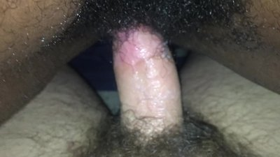 Wet creamy pussy slow riding..