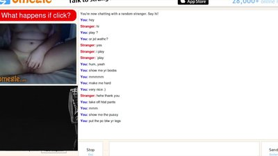 Omegle hairy teen spread for..