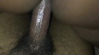 Girlfriend rides dick