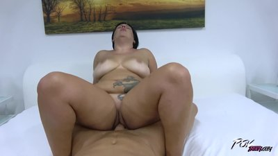 Fat super horny busty mom..
