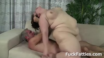 Fat Slut Pounded With Hard..