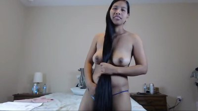 Cute Long Haired Asian..